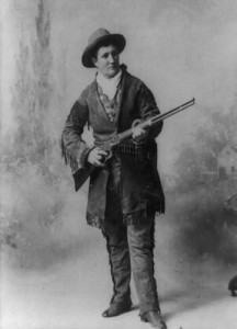 Calamity Jane, 1895, courtesy Library of Congress