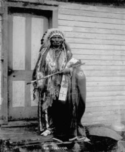 ig Tobacco, A Dance Hall Chief, circa 1900