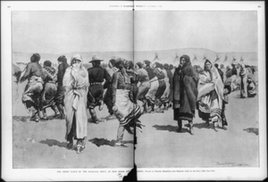 Ghost Dance at Pine Ridge Reservation, Frederic Remington