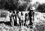Indian Children on Flathead Reservation, 1907, courtesy Library of Congress