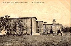 Postcard of Bryce Hospital (circa 1900)