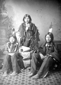 Three Lakota Boys Arriving at Carlisle, courtesy National Anthropological Archives, Smithsonian