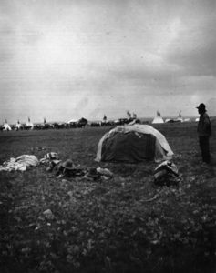 Blackfeet Sweat Lodge in Montana circa 1900, courtesy Library of Congress