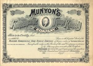 A Pennsylvania Homeopathic Company, 1880s