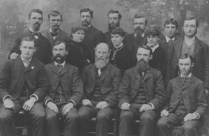 University of Iowa Homeopathy Class of 1882, courtesy UI College of Medicine
