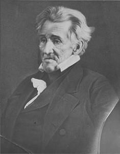 Daguerrotype of Andrew Jackson