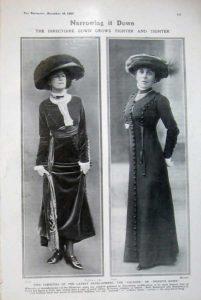 Women's Fashions in 1908