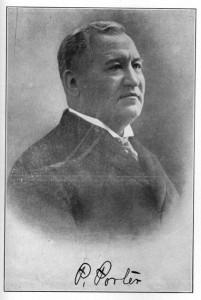 Chief Pleasant Porter, Sequoyah Convention Chair