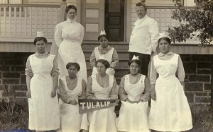 Medical Staff, Tulalip Indian School, 1912, courtesy Library of Congress