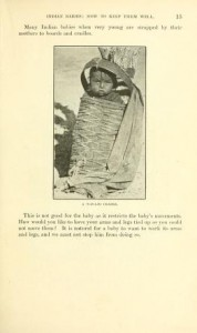 Baby in Cradle, Department of Interior pamphlet