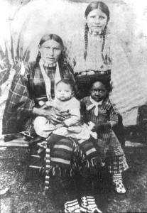 Black Indian Family