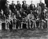 Sioux Delegation, 1891, courtesy Library of Congress
