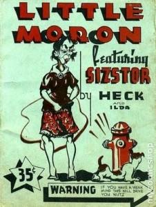 Sizstor, A Little Moron Character