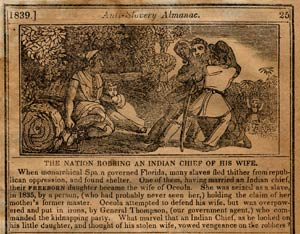 The Nation Robbing An Indian Chief of His Wife, courtesy www.johnhorse.com