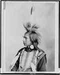 A Klickitat Brave, 1899, couresty Library of Congress