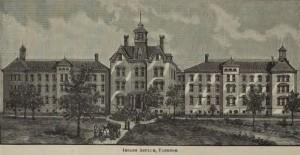 Yankton Insane Asylum, S.D.