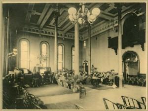 Ballroom at Athens Insane Asylum