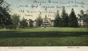The Hartford Retreat (postcard)