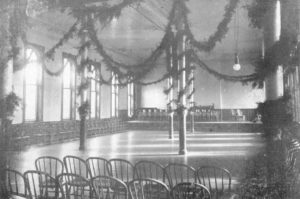 Ward Decorated for Christmas, Fulton State Hospital, 1910