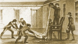 Douche Bath in Pennsylvania Hospital for the Insane, 1868, courtesy cournellpsychiatry.org