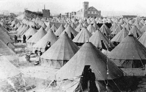 Army Surplus Tents From the Spanish-American War