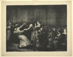 Dance at a Madhouse, 1907 by George Wesley Bellows