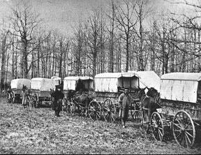 Civil War Ambulance Train