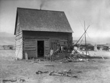 Typical Indian Home (Flathead Reservation, 1909), courtesy Library of Congress