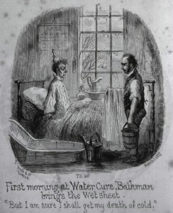 Pleasures of the Water Cure, 1857, courtesy National Library of Medicine