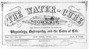 Water Cures Were Popular With Those Who Could Afford Them