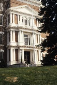 Beautiful Entrance to the Western North Carolina Insane Asylum, courtesy NCSU Library