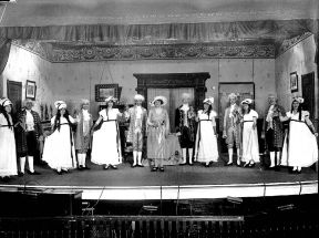 Patients Putting on a Play, Long Island State Hospital