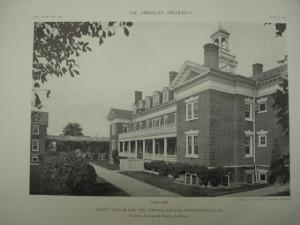 State Asylum for the Chronic Insane in Wernersville, Pennsylvania, circa 1911