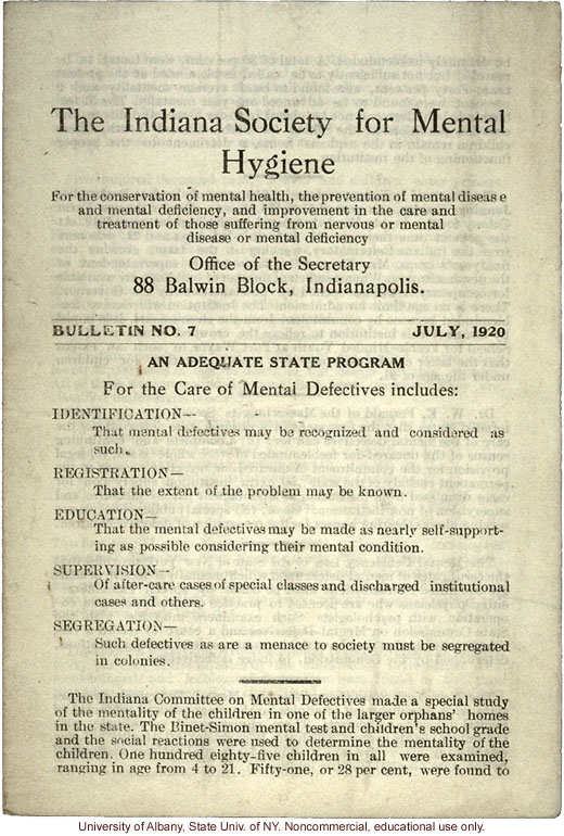 historical survey of mental hygiene 902 general records of the public health service and its and redesignated division of mental hygiene by an act of national archives and records.