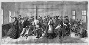 Blackwell's Island Lunatic Ball, 1865