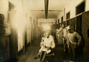 Montevue Asylum in Maryland, 1909, Photographed by the State's Lunacy Commission
