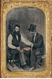 Bloodletting, circa 1850