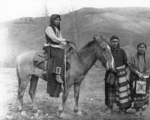 Colville Indian Family on Reservation, circa 1900 - 1910, courtesy Library of Congress