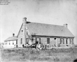 Ft. Sill Indian School, courtesy Oklahoma Historical Society