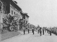 Masonic Temple Band Visiting Stockton to Provide Music, courtesy Bank of Stockton Historical Photo Collection