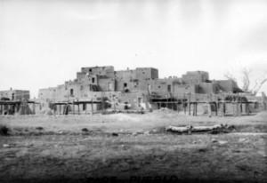 Taos Pueblo, circa 1900 - 1910