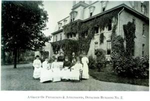 Group of Physicians and Attendants at Willard Asylum for the Chronic Insane, courtesy inmatesofwillard.com