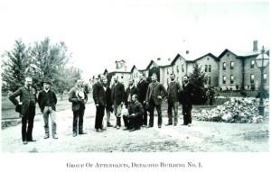 Male Attendants at Willard Asylum for the Chronic Insane, courtesy inmatesofwillard.com