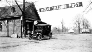 Mille Lacs Trading Post, circa 1920, courtesy Minnesota Historical Society