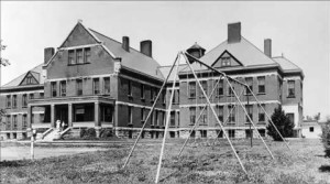 Canton Asylum with Swing Sets