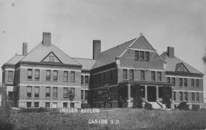 Front View of Canton Asylum, courtesy National Institutes of Health