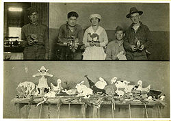 Occupational Therapy, Toy Making in WWI-Era Psychiatric Hospital, courtesy Otis Historical Archives, National Museum of Health and Medicine