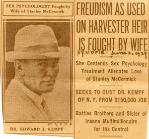 Psychoanalysis Is News, courtesy National Archives