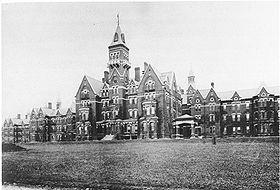 Danvers State Hospital, circa 1893