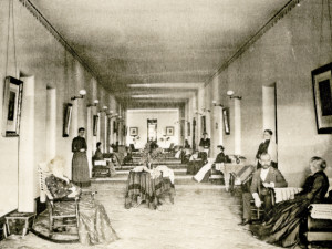 Female Ward at Athens Lunatic Asylum, 1893